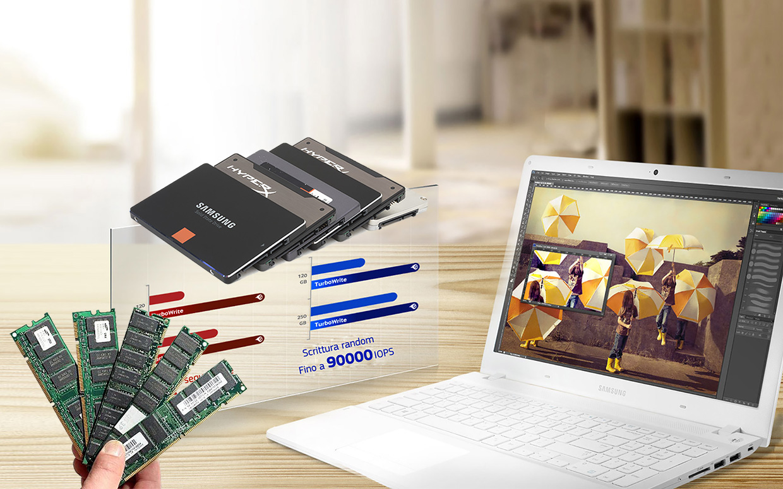 Upgrade SSD e RAM